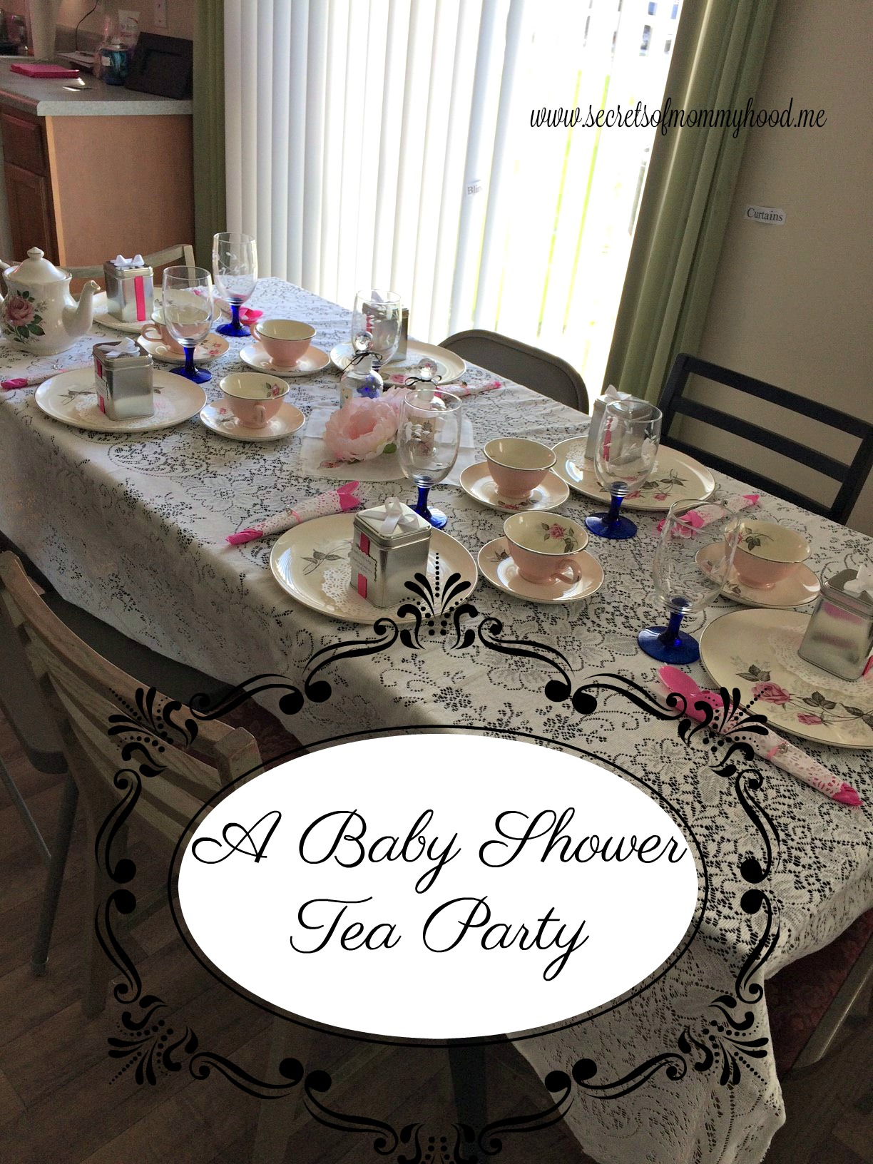 I Recently Had The Privilege Of Throwing A Baby Shower For A Dear Friend Of  Mine. I Wanted It To Be Elegant And Very Special For Her.